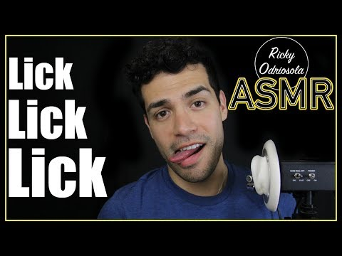 ASMR - Lick Lick Lick 2 (Licking Ears, Tongue Sounds, Male Voice for Relaxation & Sleep)