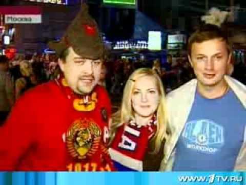 Россия - Голландия 3-1. Ночь после победы.flv