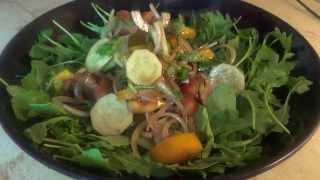 Салаты с телячьим сердцем. Часть 2. Летний салат