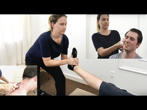 FULL BODY TREATMENT - Sprained Ankle,  EAR Adjustment Chiropractic INJURED IN PARADISE