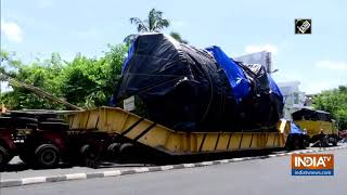 Truck loaded with 70-ton machinery to reach Vikram Sarabhai Space Centre after a year