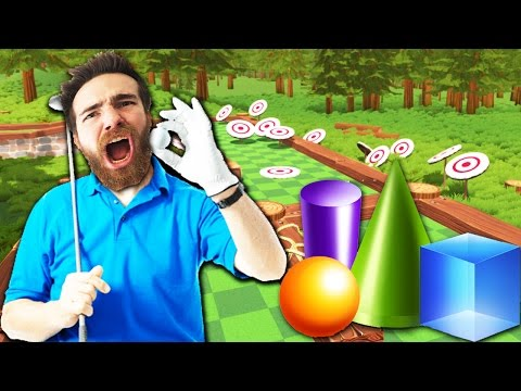 GOLF WAGER WITH SILLY SHAPES!!!