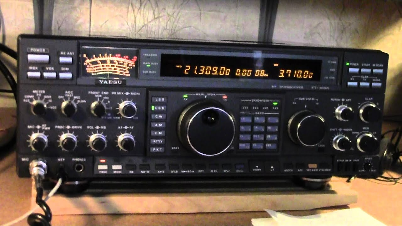 2e0udx Phil He S On A Yaesu Ft 1000d Great Audio Youtube