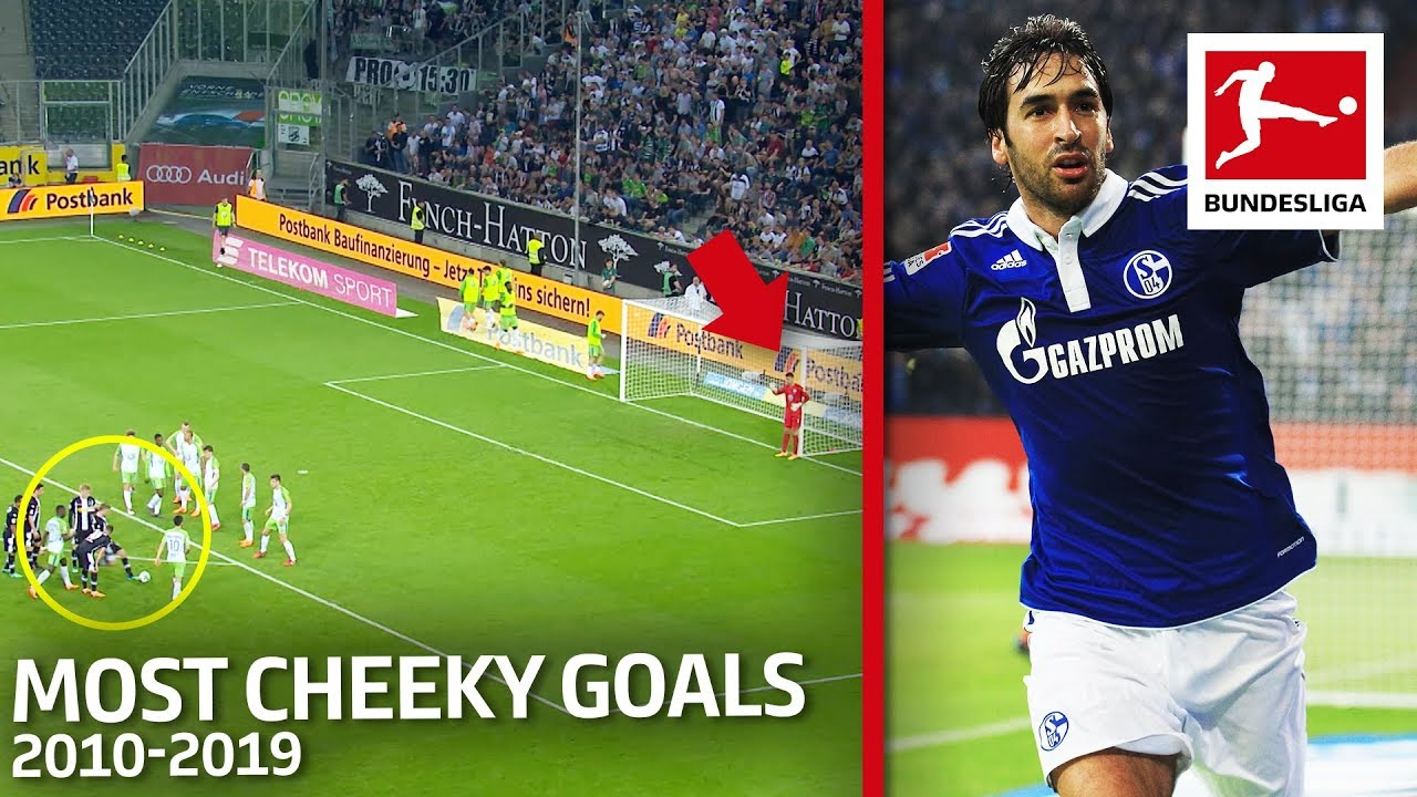 Top 10 Most Cheeky Goals of the Decade 2010-19 - Raul, Müller, Alonso & More
