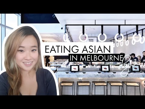 EATING ASIAN IN MELBOURNE | SUSHI TRAIN & MALAYSIAN