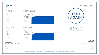What's it like having AT&T Fiber Internet 1000Mbps?