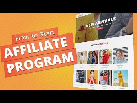 How to Start You Own Affiliate Marketing Program for eCommerce Website with WordPress