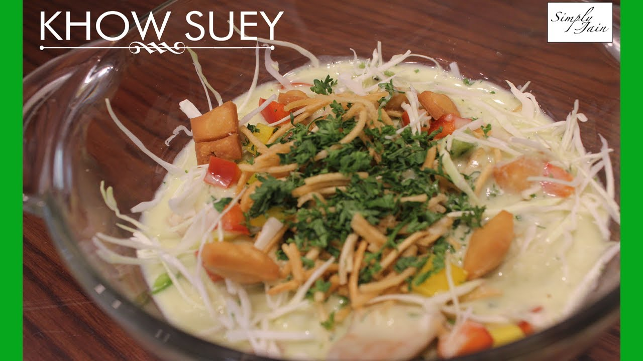 Vegetarian khow suey how to make burmese khow suey recipe vegetarian khow suey how to make burmese khow suey recipe burmese cuisine simply jain forumfinder Images