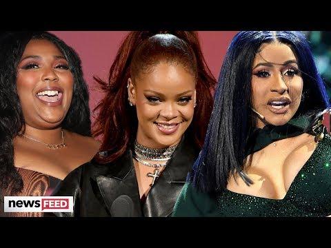 Rihanna FANGIRLS Over Lizzo & Cardi B DRAGGED For Lipsyncing at BET Awards!