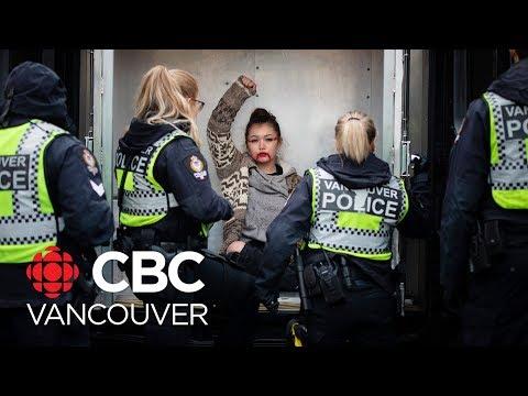 Demonstrators arrested at