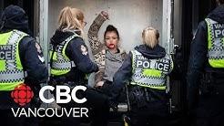 Demonstrators arrested at Port of Vancouver blockade