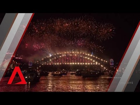 Australia welcomes 2019 with biggest fireworks display