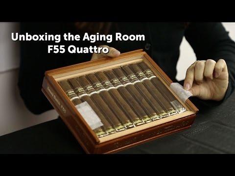 Aging Room Small Batch F55 Quattro Cigar Unboxing