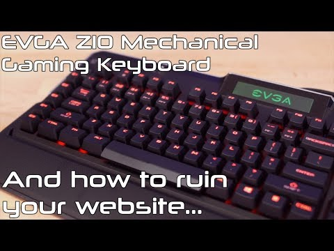 EVGA Z10 Keyboard, and how NOT to design your website - Friday Flights