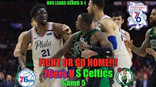 Unite Or Die: 76ers vs Celtics Game 5 Live Reactions Only!!!