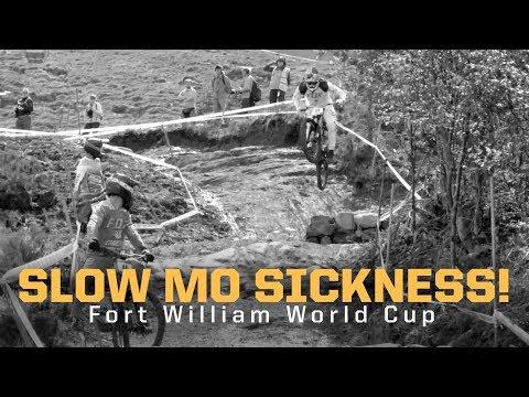 BIKE ABUSE - Fort William Slow Mo Sickness