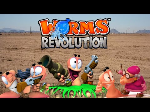 The Boys Play WORMS REVOLUTION - Part 1 |