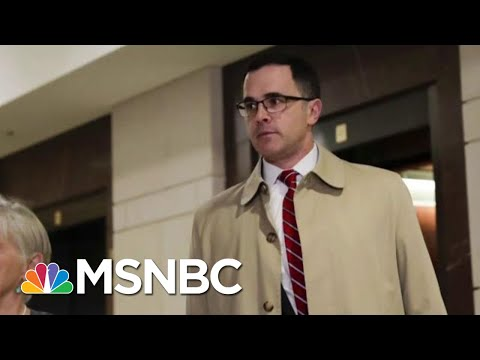 House Member: W.H. Official Corroborating Fact Witness On Trump Quid Pro Quo | The Last Word | MSNBC
