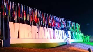 Gandhinagar decorated with lighting for Vibrant Gujarat Summit 2019
