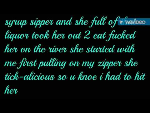 Young dolph on the river Ft. Wiz khalifa (lyrics on screen)