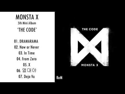 MONSTA X – 5th Mini Album 'THE CODE' (MP3 DOWNLOAD)