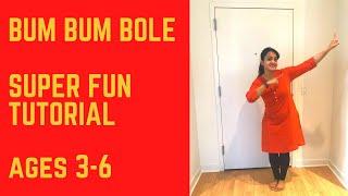 Bum Bum Bole Kids Dance | Super Fun Tutorial | Ages 3-6