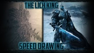 Speed Drawing: The Lich King