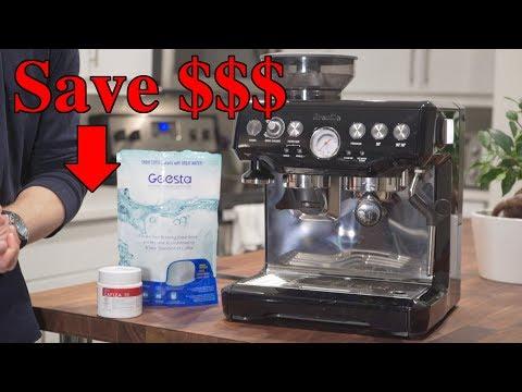 Save Money Maintaining Your Breville Espresso Machine
