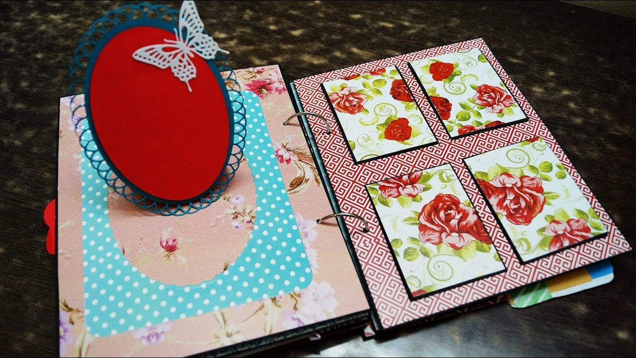 How to make scrapbook on facebook - Scrapbook With Pockets And Tags The Sucrafts 2016 11 24