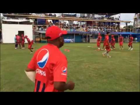 Teams Getting Ready For First Day Of Cup Match, Aug 3 2017