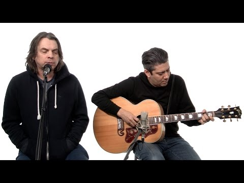 54-40 Neil Osborne sings 'Lies To Me' in National Post Music studio