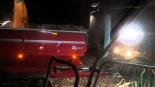 T K FARMS , DARKE CO. OHIO ,A VIEW FROM THE CAB, 2014 Harvest