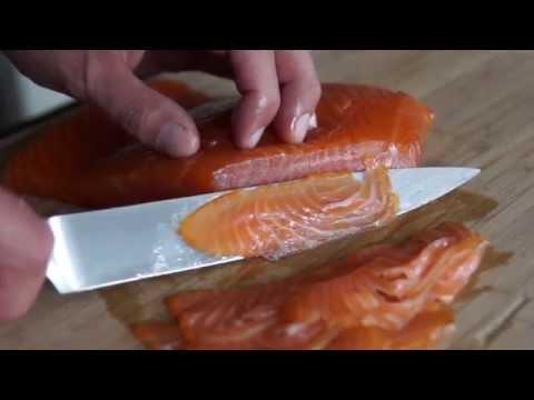 Cold Smoked Salmon  - Nova Lox - recipe