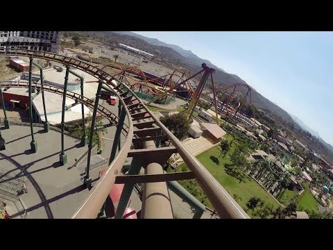 Gold Rush Express Mine Train Roller Coaster Adlabs Imagica Mumbai India