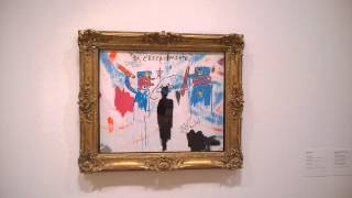 Jean-Michel Basquiat at Guggenheim Museum Bilbao 2/7/15