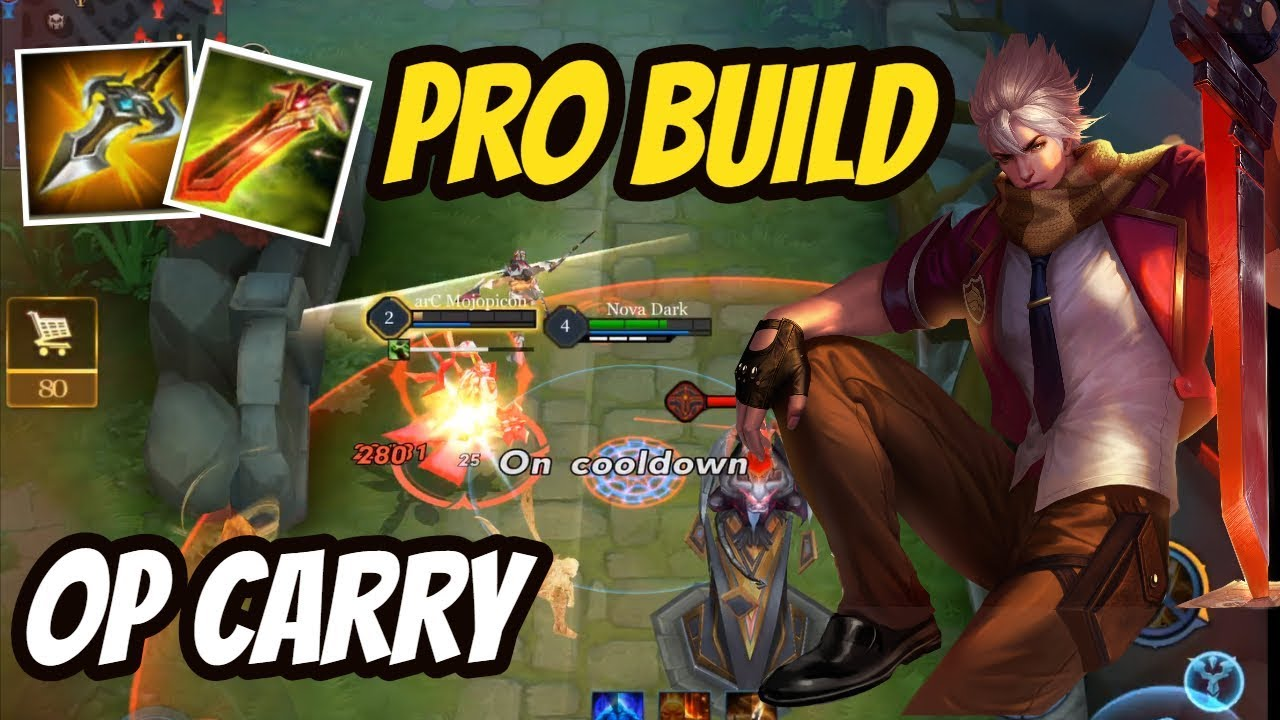 New Murad Build Best Assassine For Solo Carry Darkbreaker Arena Of Valor