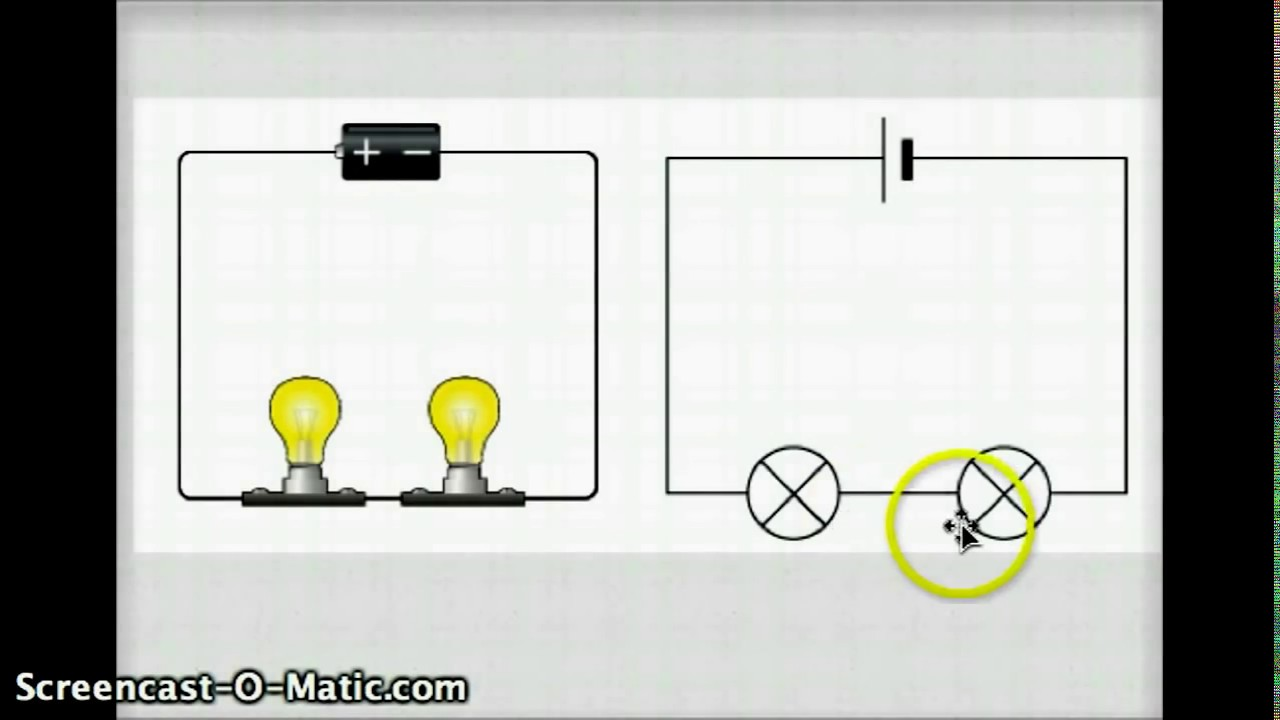 Series And Parallel Circuit Video Youtube Light Bulb Simple Experiment For Elementary Students