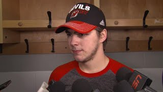 Hischier knew his first goal would come eventually