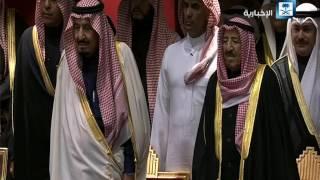خادم الحرمين الشريفين يشرف حفل وزارة الإعلام الكويتية