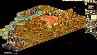 Let's play Good old games: Disciples 2 Rise of the Elves Elven Alliance part 1 HD Very Hard lvl