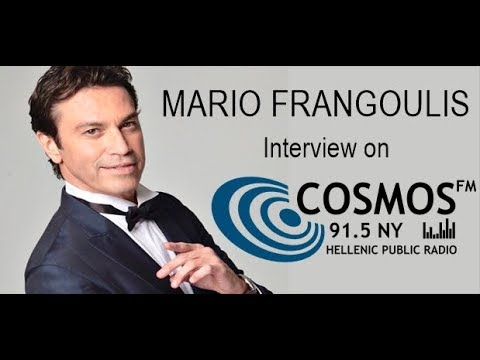 Mario Frangoulis Talks on the Hellenic Public Radio COSMOS FM 91.5