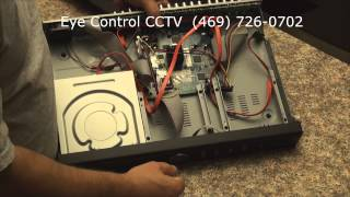 How to install a hard drive with an Digital ID View DVR Echo
