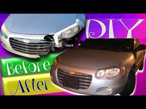 DIY Auto Body Repair | Front End Repair Part1