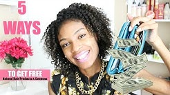 How to Get FREE Natural Hair Products & Coupons!
