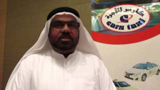 ABDULLAH SULTAN AL SABBAGH- CEO at Cars Taxi Group speaks to WILLIAM FARIA
