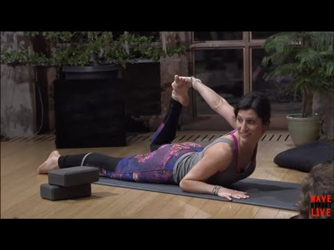 Gentle Yoga Flow with Andrea Woodhall on Wave Street Live - Ep. 3
