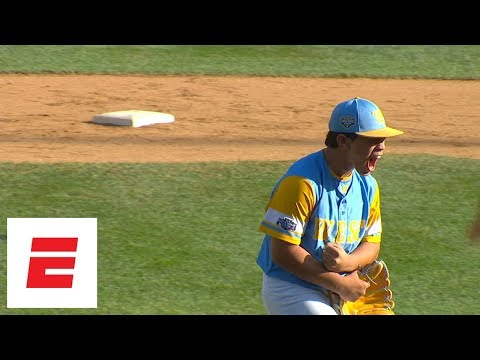 LLWS 2018 highlights: Hawaii pitcher Aukai Kea dominates Georgia with 15 K's | ESPN
