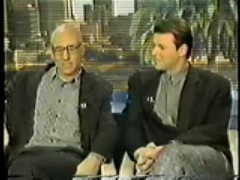 Patrick Stewart and Jonathan Frakes on Good Morning America 1987