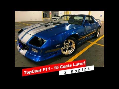 Top Coat F11 Discount Code >> Topcoat F11 Update 15 Coats 3 Months Later