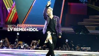 181214 방탄소년단 지민 (BTS JIMIN) - O!RUL8,2? LY REMIX + IDOL (JIMIN FOCUS 4K fancam)